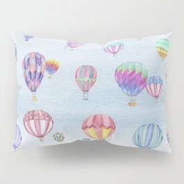 Hot Air Ballon Festival Pillow Sham