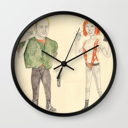 MULTIPASS Wall Clock
