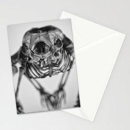 Strange skeleton Stationery Cards