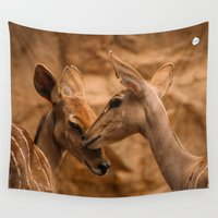 friendship Wall Tapestries featuring A Warm Friendship by Lindsay Spillsbury