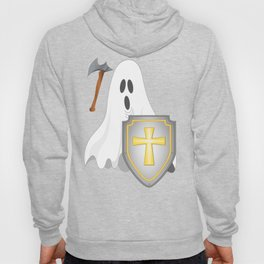 Ghost axe and shield Hoody