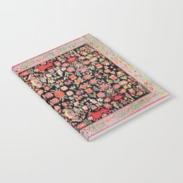 Täcke Antique Swedish Skåne Wedding Blanket Print Notebook
