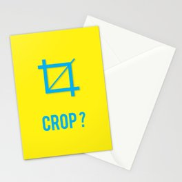 CROP? Stationery Cards