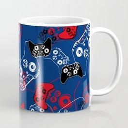 Video Game Red White & Blue 1 Coffee Mug