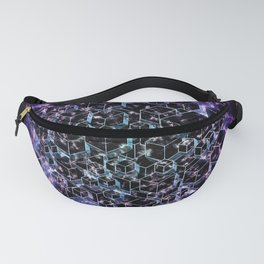 Abstract Cubes II Fanny Pack