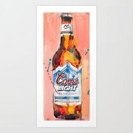 Coors Lite Art Print