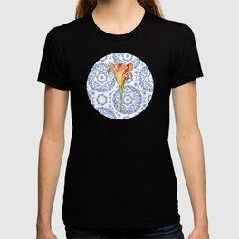 Blue Rhapsody Daylily T-shirt
