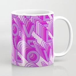 Love 3d Pink Coffee Mug