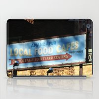cafe iPad Cases featuring Cafe by Ink and Paint Studio