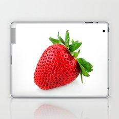 Strawberry on WhiteII Laptop & iPad Skin