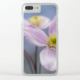 Wind and withering. Clear iPhone Case