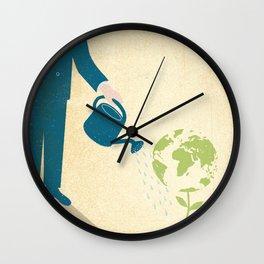 Feed the World Wall Clock