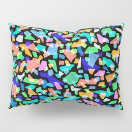 Neon Terrazzo Pillow Sham