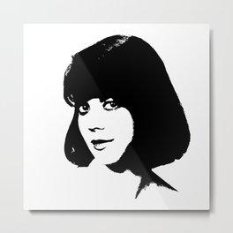 Natalie Wood Is Class Metal Print