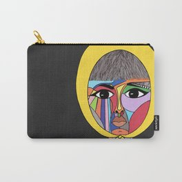 Colorful Lady Carry-All Pouch