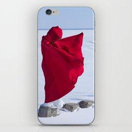winer girl iPhone Skin