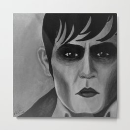 Barnabas Collins - Dark Shadows - Johnny Depp Metal Print