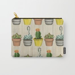 Succulents & Cacti Carry-All Pouch