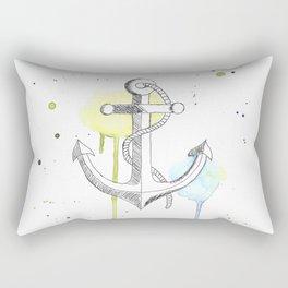 Ancre de bateau (Aquarelle) Rectangular Pillow