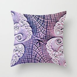 Reverie of the Rose Throw Pillow