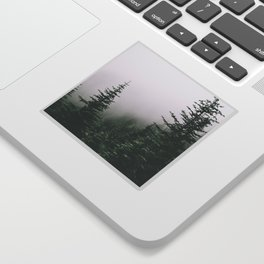 Moody Forest Sticker