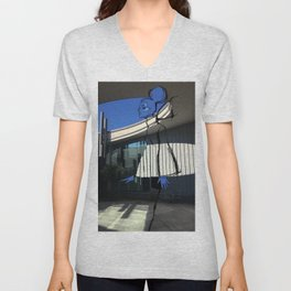Sometimes Geometry is a Good Thing Unisex V-Neck