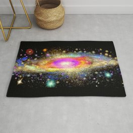Milky Way Galaxy Rug