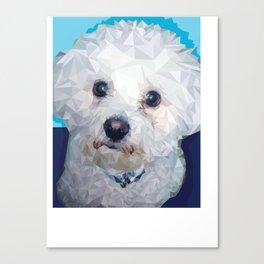 Roscoe Dog Canvas Print