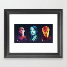 Hunger Games 3 Framed Art Print
