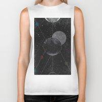 universe Biker Tanks featuring Universe by jrteerayut