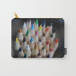 Pencil Crayon Tips Carry-All Pouch