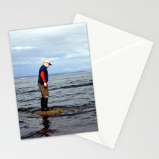 A boy and The Sea 2 Stationery Cards