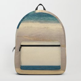Vintage Beach Photographic Pattern #1 Backpack