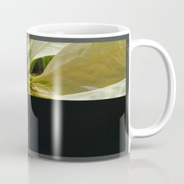 Pale Yellow Poinsettia 1 Blank Q2F0 Coffee Mug