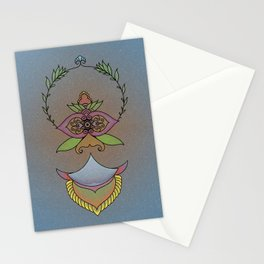 One-Eyed Face Stationery Cards