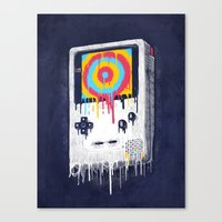 gaming Canvas Prints featuring Gaming by Ronan Lynam