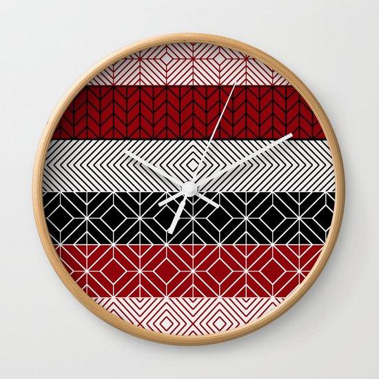 Tribal I Wall Clock