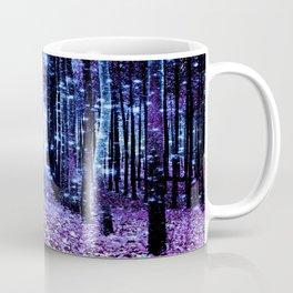 Magical Forest Turquoise Purple Coffee Mug