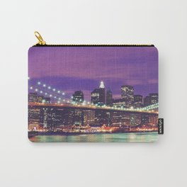 New York City At Night Carry-All Pouch