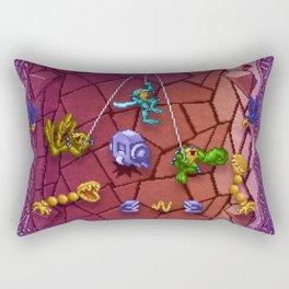ToadBattles Rectangular Pillow