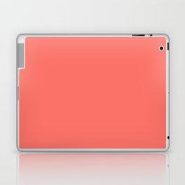 Living Coral Pantone Solid Color Block Laptop & iPad Skin
