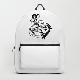 Navy Girlfriend Backpack