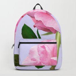 SINGLE PINK ROSE FOR LOVE Backpack
