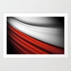 flag of Poland Art Print