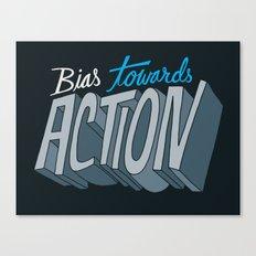Action Canvas Print