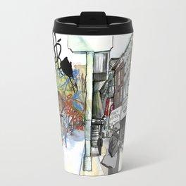 Broadway, the Divide Travel Mug