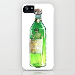 Lemon-Lime Leon iPhone Case