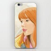 lost in translation iPhone & iPod Skins featuring Lost In Translation - Charlotte by Tanita