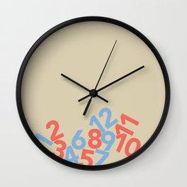 Falling clock Wall Clock