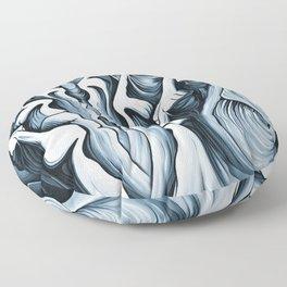 Mountain Faces Floor Pillow
